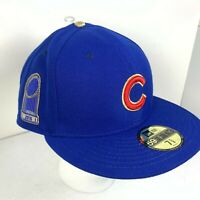 Chicago Cubs New Era 59Fifty World Series Champion 2016 Gold Fitted Hat Size 8