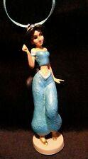 Disney Princess Jasmine glittering Christmas Ornament PVC Aladdin