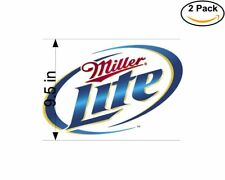 Miller Lite 2 2 Stickers 9.5 Inch Sticker Decal