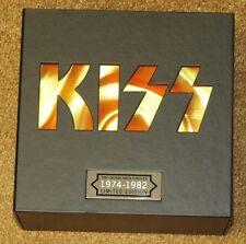 "KISS CASABLANCA SINGLES 7"" 45 RPM - EMPTY BOX + SHEET"