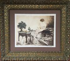Louis ICART 1888-1950.Le jardin japonais.1932.Eau forte,pointe sèche.SBD.21x26.
