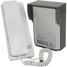Wired Door Entry Phone Receiver System -100m Range- Security Intercom - Outdoor
