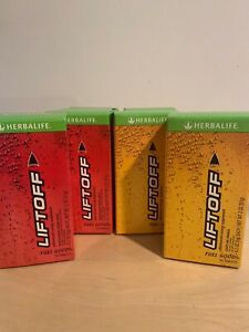 HERBALIFE LIFTOFF for ENERGY FOCUS IMMUNE ANTIOXIDANT HYDRATE [10 big tablets]
