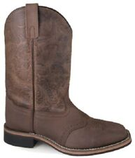 """NEW! Ladies Smoky Mountain Boots - Western Cowboy - Leather - 10"""" Brown Oil"""