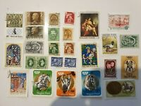 Lot of 25 Magyar Posta (State of Hungary) stamps set 1
