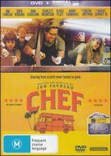 CHEF (Jon FAVREAU Sofia VERGARA John LEGUIZAMO Scarlett JOHANSSON) DVD NEW Reg 4