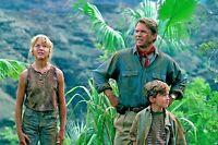 Jurassic Park Film Script Screenplay. Sam Neill, Laura Dern, Jeff Goldblum.