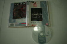 DINO CRISIS 1 PC CD By White Label Very Rare