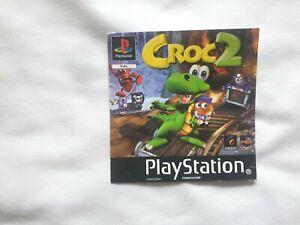 Case Artwork (Front Insert) - For PS1 game CROC 2