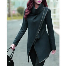 Fashion Women Trench Coat Warm Ladies Parka Overcoat Long Jacket Winter Outwear