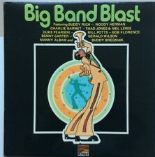 "VARIOUS ARTISTS ""BIG BAND BLAST"" 1970s JAZZ SWING MINT PRISTINE CONDITION"