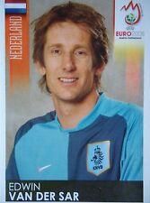 Panini 260 Edwin van der Sar Niederlande UEFA Euro 2008 Austria - Switzerland
