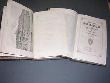 Lyon Fabvier E. Histoire de Lyon 1846 gravures cartes dépliantes 2 vol. complet