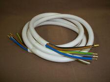 Herdanschlußkabel  €1,25/m   (G1) 1 Stück , 2 m , H05VV-F 5G2,5qmm ,weiß