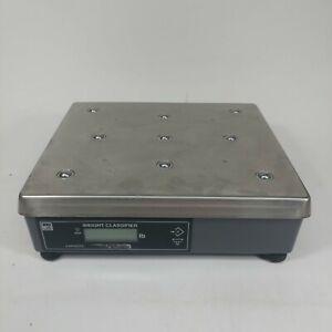NCI Avery Weigh-Tronix 7820-50 Ball Top Shipping Scale Digital 100lb x 0.02 LB