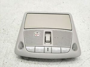 2014 2015 INFINITI Q50 OVERHEAD CONSOLE DOME MAP LIGHT SUNROOF SWITCH LOT473 OEM
