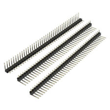 10 Pcs 1 x 40 Pin 2.54mm Pitch Single Row Right Angle PCB Pin Headers M5O3