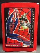"Topps ""2002"" Merlin Spider-Man Album Stickers. Two Packs!"