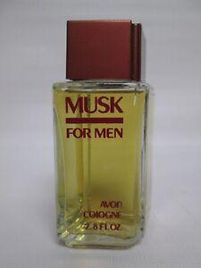 """Vintage 1983 *NEW/SEALED* 2.8 FL.OZ. AVON """"MUSK FOR MEN"""" AFTER SHAVE/COLOGNE"""