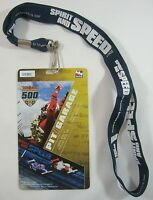 2007 Indianapolis 500 Event Collector Lanyard & Pit / Garage Credential