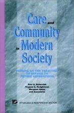 Care and Community in Modern Society: Passing on the Tradition of Service to Fut