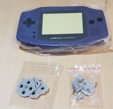 Nintendo GameBoy Advance GBA Replacement Purple New Shell Housing Game Boy