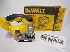 DEWALT DC330B 18v Cordless Jig Saw Keyless blade change with FULL WARRANTY!!!!!!