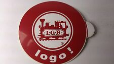 Original LGB 8.5 cm Diameter Window Sticker 08 - logo ! (PL)