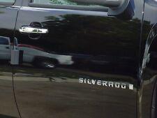 CHEVROLET SILVERADO/GMC SIERRA 2DR 07-13 TFP ABS CHROME DOOR HANDLE COVER-1 KH