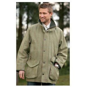 Men's Sherwood Windsor Men's Tweed Jacket - Olive Mustang Check WAS £151.70