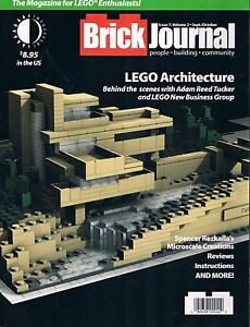 Brickjournal Magazine  #7 for Lego Enthusiasts of All Ages TwoMorrows 2009