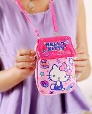 Cute Hello Kitty Cell Phone Bag Coin Bag Purse Card Holder Camera Case