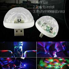 2 x LED USB Discokugel Lichteffekt DJ Party Bar Pubs RGB Bühnenbeleuchtung Mini