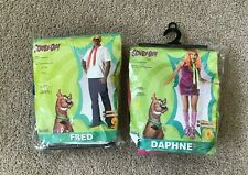 Fred & Daphne Scooby-Doo Halloween Costumes, Standard Adult Size, Rubie's