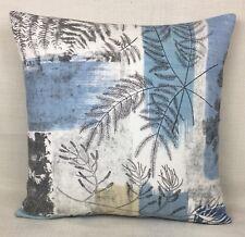 Harlequin CALDESIA Fabric cushion Cover Patchwork Printed Design Indigo/Pebble
