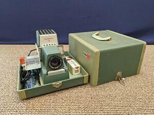 Argus 300 Vintage Projector Model 3 III Slide Projector Working Original Case