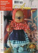Andrea # 0520 invierno Mode Halloween y carnaval f Baby Born barbie Annabell & Co