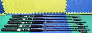 """Okuma Classic Pro GLT Copper/Leadcore Trolling Rod 8' 6"""" CP-CL-862M 5 Pack"""