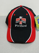 PONTIAC FIRST GENERATION FIREBIRD BLACK/RED HAT GM LICENSED