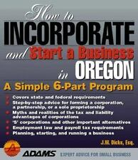 How to Incorporate and Start a Business: How to Incorporate and Start a Business