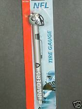 NFL Oakland Raiders Tire Pressure Gauge, NEW