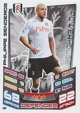 N°080 PHILIPPE SENDEROS # SUISSE FULHAM.FC TRADING CARD MATCH ATTAX TOPPS 2013
