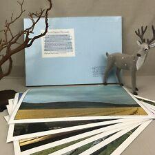 "North Dakota ""Flickertail State"" Color Placemats Vintage Washable Plastic Large"