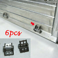 6x Metal Cargo Container Hinge Kit for Tamiya 1/14 Scania 56323 RC Truck Trailer