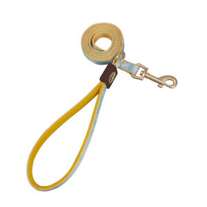Leader Training Leash Chest Rope Harness Collar Nylon Adjustable Luckly Yellow