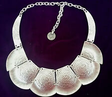 Turkish Made Silver Plated Necklace 1041NH