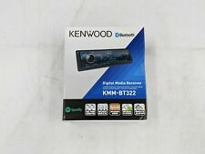 New Kenwood KMM-BT322 Bluetooth Digital Media Receiver -AS0391