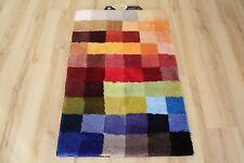 Alfombra de baño Kleine Wolke Cubetto multicolor 85x145 cm