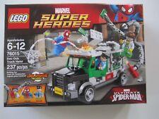 76015 Lego Marvel Super Heroes Doc Ock Truck Heist 237 Pieces Spider-man New