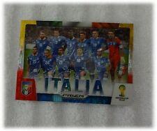 2014 Panini Prizm World Cup Yellow Red Pulsar Team Photos - Italy / Italia #22